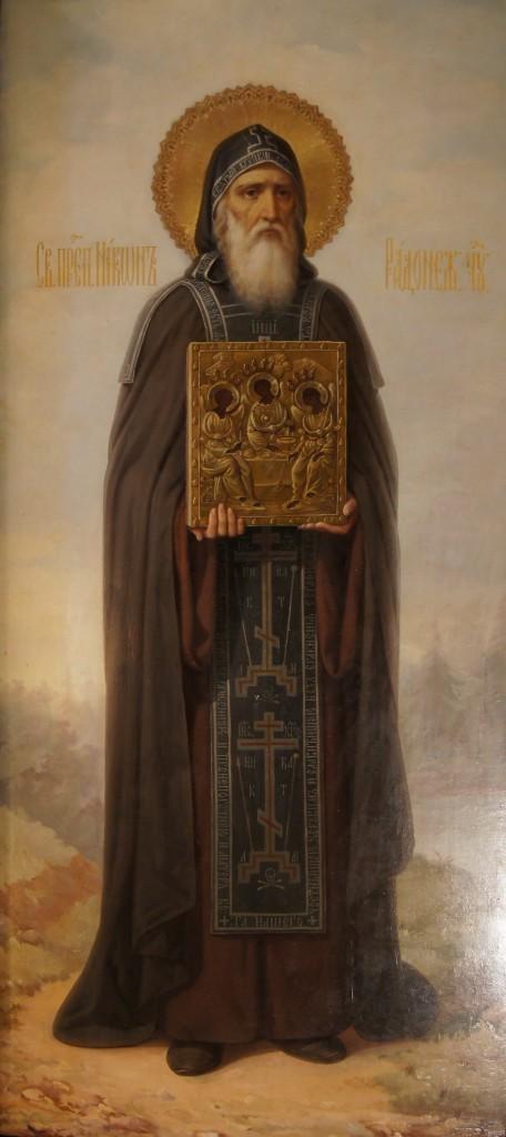 Преподобный Никон Радонежский - икона