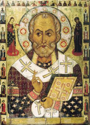 Святитель Николай - икона