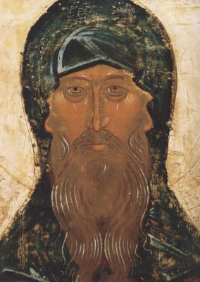 Святой Антоний Великий - икона