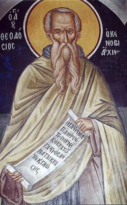 Святой Феодосий Великий - икона