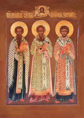 Икона святителей