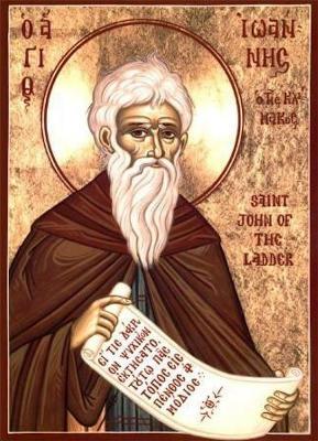 Святой Иоанн Лествичник - икона