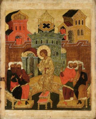 Преполовение Пятидесятницы - икона