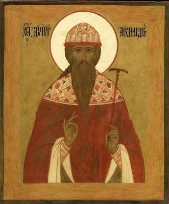 Святой Дионисий Радонежский - икона