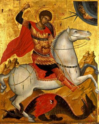 Святой Георгий - икона