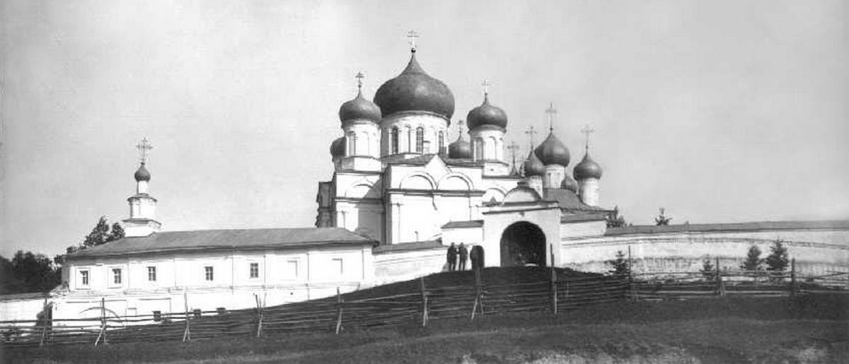 Затопленный Покровский монастырь