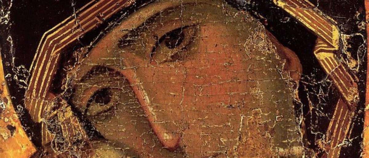 Владимирская икона - фрагмент
