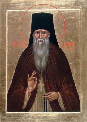 Св. Амвросий Оптинский - икона