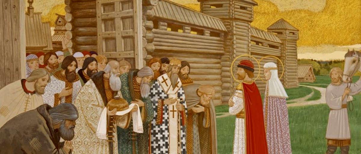 Святые Петр и Феврония - заставка
