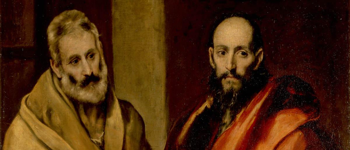 Святые Петр и Павел - Эль Греко