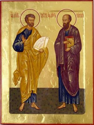 Святые Петр и Павел - икона