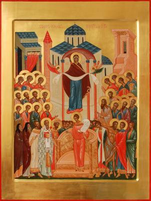 Покров Пресвятой Богородицы - икона