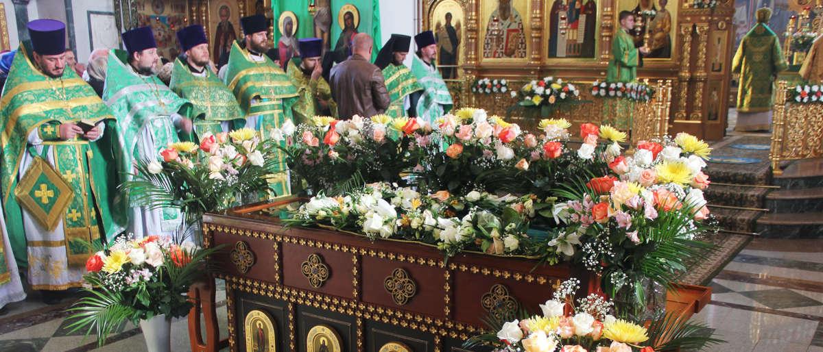 Мощи св Олега Брянского