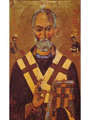 Святитель Николай Мирликийский - икона