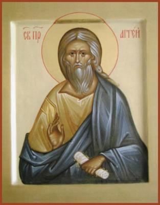 Св пророк Аггей - икона