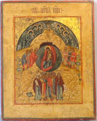 Собор Пресвятой Богородицы - икона