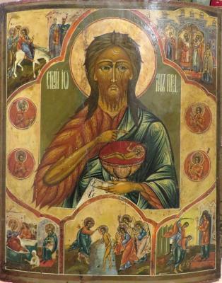 Св Иоанн Предтеча - икона