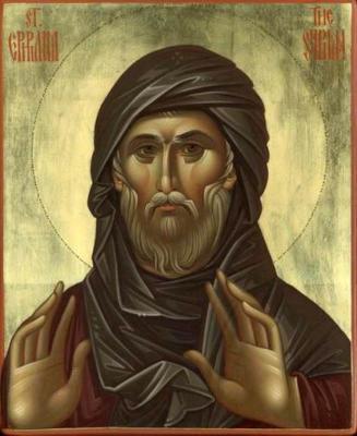 Святой Ефрем Сирин - икона